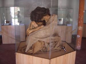 pre-Inca peruvian mummy