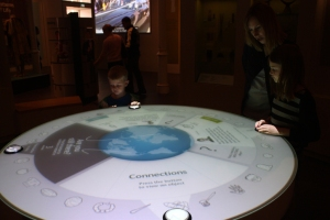 Using digital technology in museum displays
