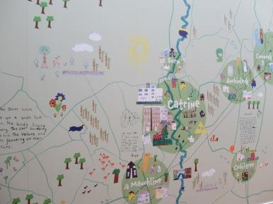 Catrine map